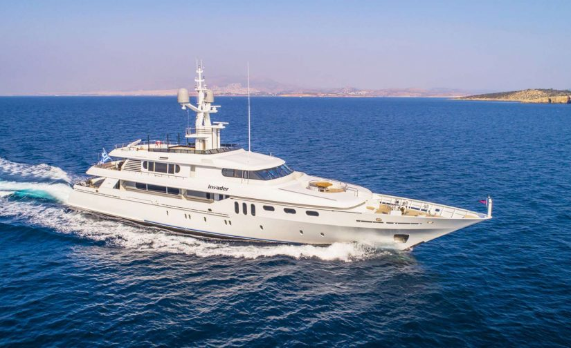 luxury motor yacht available for charter