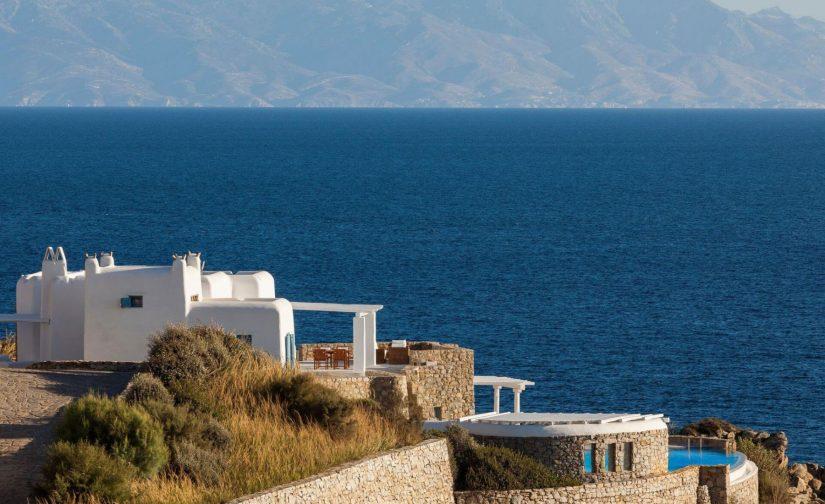 beachfront villa posidonia