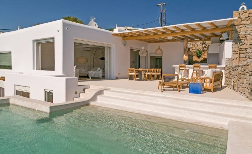 Mykonos beachfront villa