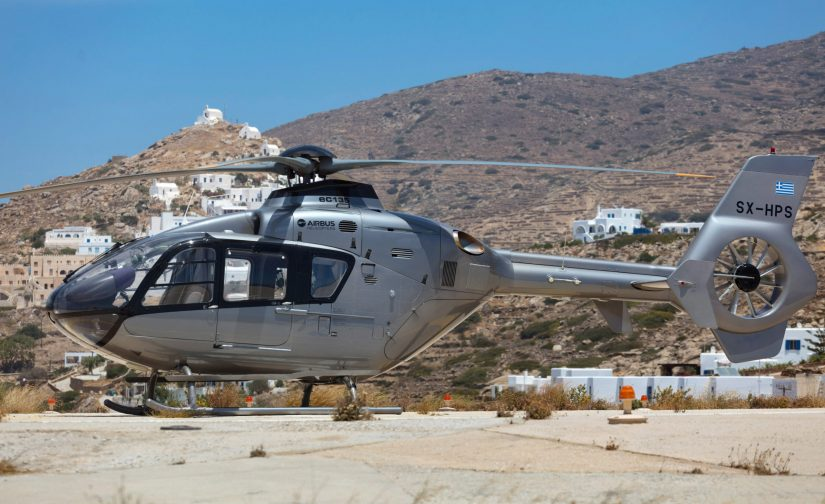 alphamykonos rent a helicopter