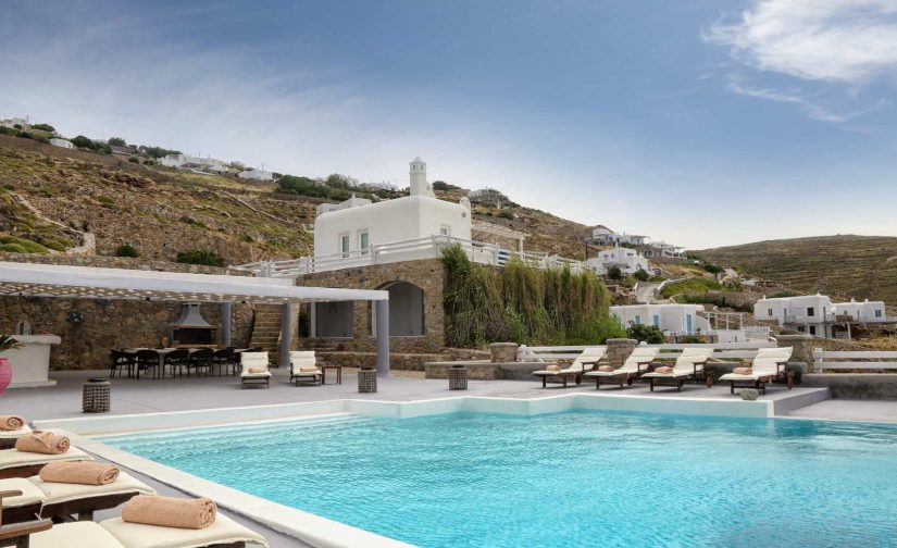 mykonos Greece luxury villa