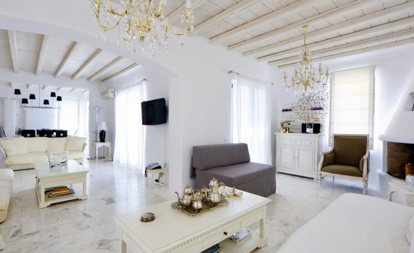 luxury interior mykonos villa