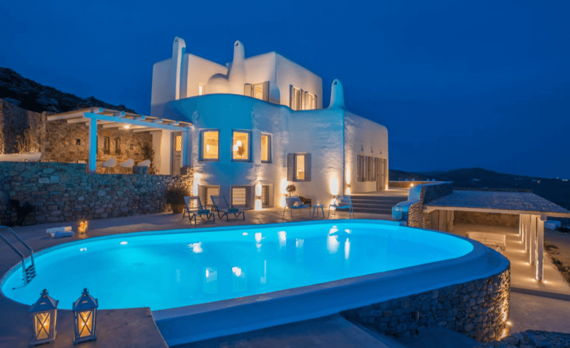 mikonos best villas