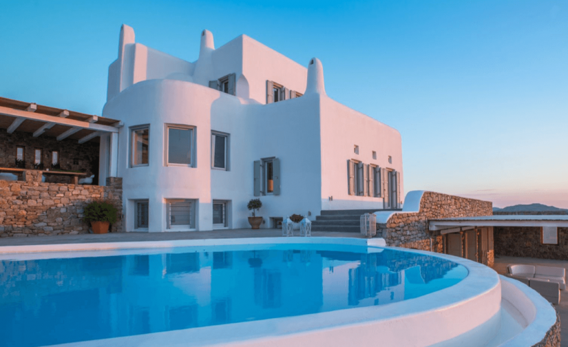 mykonos villa victory