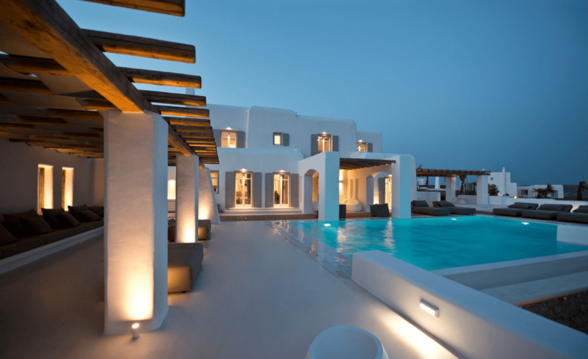 mykonos by the pool