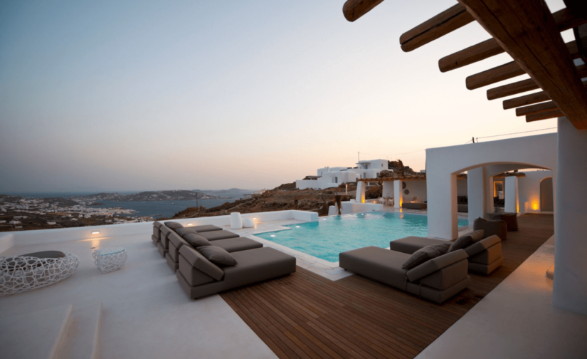 mykonos private villa
