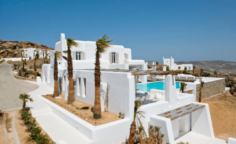 rent a villa mykonos
